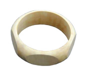 Indus Trading BR-RE-047 Small 2.5cm Width Pentagon Exterior Bangle