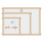 Jonti-Craft 1510JCEWW KYDZSuite Panel - E-Height - 60cm . wide - Write-n-Wipe