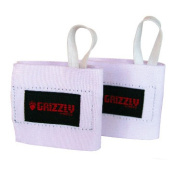 Grizzly Fitness 8665-09 Elastic Cotton Wrist Wrap