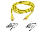 BELKIN COMPONENTS CAT6 patch cable RJ45M/RJ45M 50ft yellow A3L980-50-YLW-S
