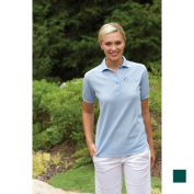 24-7 Lifestyle TS00351FG00005 Ladies Performance Blend Polo 351 FOREST GREEN XL