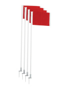 Trigon Sports SCFLAGD Deluxe Corner Flag Set