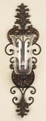 Deco 79 91512 Metal Glass Candle Sconce a Perfect Christmas Gift