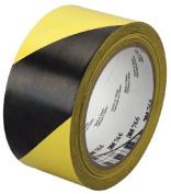 3M Industrial 405-021200-43186 3M Hazard Warning Tape 767 Red- White 5.1cm . X36Yd 5Mi