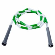 Power Systems 35206 1.8m Beaded Jump Rope - Green-White