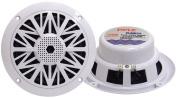 PYLE PLMR52 150 Watts 5.25 in. 2 Way White Marine Speakers