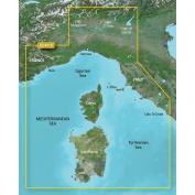 Garmin BlueChart® g2 - HXEU451S - Ligurian Sea Corsica & Sardinia - microSD/SD