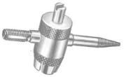 Milton Industries MILS445 4-in-1 Steel-Plated Tyre Valve Repair Tool