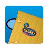 Freddy & Friends TOF-01-0712 Little Yellow Loop