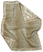 Dee Givens & Co-Raindrops 1701 Neutral Faux Fur Receiving Blanket - Ivory - 71.1cm . x 91.4cm .