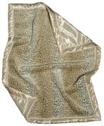 Dee Givens & Co-Raindrops 1701 Neutral Faux Fur Receiving Blanket - Ivory - 71.1cm . x 91.4cm .