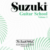 Alfred 00-0471 Suzuki Guitar School CD- Volume 2 - Music Book