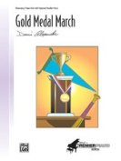 Alfred 00-24185 Gold Medal March - Music Book
