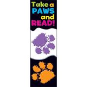 Trend Enterprises Inc. T-12034 Take A Paws Bookmarks
