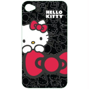 Hello Kitty Kt4488B4 Iphone 4 Polycarbonate Wrap - Black-Red