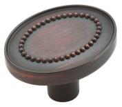 Amerock BP26133ORB Opulence 1-3/8in(35mm) LGTH Knob - Oil-Rubbed Bronze