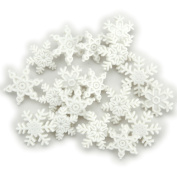 Jesse James DIUHLDAY-964 Dress It Up Holiday Embellishments-Snow