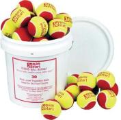 Olympia Sports BL415P Quick Start 36 Tennis Balls - Bucket or 30 Balls