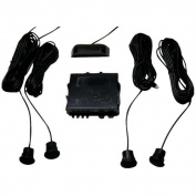 Crimestopper Ca-5010.II Parking Sensor System With Top Display - with Distance Adjustment Feature
