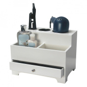 Richards Homewares 987501000 Personal White Hair Styling Organizer