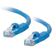 Cables To Go Cat5E 350MHz Snagless Patch Cable, 7', Blue