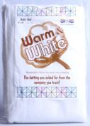 The Warm Company Warm & Natural Cotton Batting, Crib Size, 114.3cm x 152.4cm