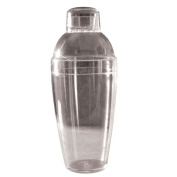 Fineline Settings 4103-CL Shakers 410ml Clear Cocktail Shaker