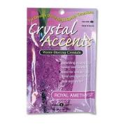 JRM Chemical CA-25R Crystal Accents 1 oz Bag Royal Amethyst