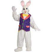 Deluxe Easter Bunny with Purple Vest Adult Costume - One Size