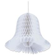 3.4m Honeycomb Bells - 2-Pack, White