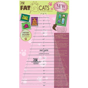 Wright's Easy Fat Cats 30cm x 18cm Quilting Ruler