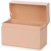 Paper-Mache Recipe Box-17cm x 9.5cm X4.13cm