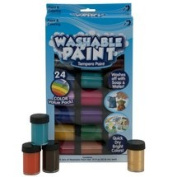 Kids Crafts Washable Tempera Paint, 24pk by Horizon Group USA
