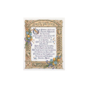 Lord's Prayer Counted Cross Stitch Kit