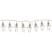 String Of Halloween Skeletons, 5' Long
