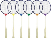 Olympia Sports RA045P Break Resistant Badminton Racquets - Set of 6
