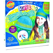 Easy Crochet Scarf and Hat Kit