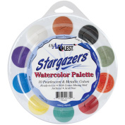 US Artquest Jewelz Watercolour Palette, Stargazers