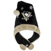 NHL Thematic Headwear Santa Hat, Pittsburgh Penguins