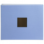 American Crafts 12X12 Cloth D-Ring Album, Blue