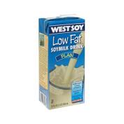 Westsoy 12414 Organic Plain Lowfat Westsoy Drink