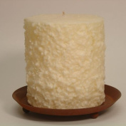 Hearth & Home Traditions 20021 4x4.5 Cake Candle - Buttercream