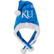 NCAA Thematic Headwear Santa Hat, University of Kansas Jayhawks