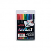 Le Plume II Double-Ended Markers 12/Pkg-Primary