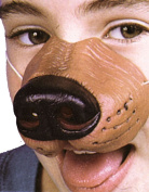 Costumes For All Occasions FA133 Nose Dog W Elastic