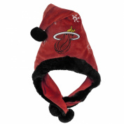 NBA Thematic Headwear Santa Hat, Miami Heat