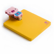 Blancho Bedding RMC003-PIG Sweet Animals-2 - Refrigerator Magnet clip - Magnetic Clipboard