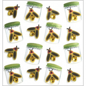 Jolee's Mini Repeats Stickers-Lightning Bugs