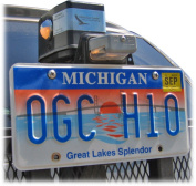 Wheelchair Carriers Licence Plate Kit