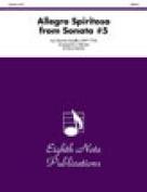 Alfred 81-BQ25206 Allegro Spiritoso- from Sonata No. 5 - Music Book